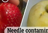 عامل میوه های آلوده به سوزن در استرالیا بازداشت شد