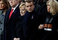 World Leaders Gather In Paris To Commemorate 100-Year Anniversary Of WWI Armistice