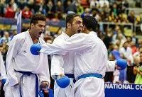 مردان کاراته ایران قهرمان جهان شدند