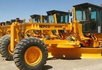 ساخت ۸۰ دستگاه گریدر در هپکو اراک آغاز شد