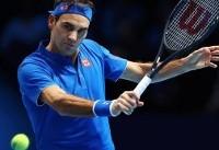 نخستین پیروزی فدرر در فینال تور ATP لندن