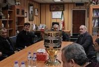 جام قهرمانی سوپر جام به باشگاه پرسپولیس تحویل داده شد