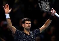 پیروزی دیگری برای جوکوویچ در تور ATP لندن