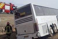 آخرین وضعیت بانوان کاراتهکای سانحه دیده در واژگونی اتوبوس