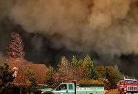 مرگبارترین آتش سوزی تاریخ آمریکا | هر ثانیه به اندازه یک زمین فوتبال  میسوزد