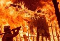 بیشتر از ۶۰۰ نفر در آتش سوزی کالیفرنیا مفقود شده اند