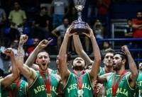 استرالیا بدون بازیکنان NBA و یورو لیگ مقابل ایران