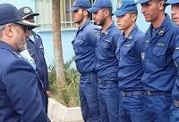 امیر نصیرزاده از پایگاه شهید حسینی بیرجند بازدید کرد