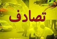 برخورد مرگبار پراید با کامیون در اتوبان زنجان -تبریز