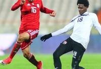 پیروزی تیم ملی فوتبال ایران برابر ترینیداد/ خداحافظی با حضور وزیر