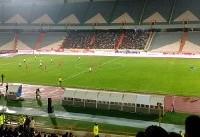 تاج با خیال راحت به استادیوم آمد/ گزارشگر پرهیجان ترینیدادی همه را متعجب کرد
