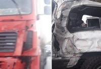 بررسی علت تصادف خودروی رییس سازمان تامین اجتماعی