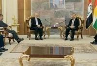 رایزنی سرکنسول ایران با اعضای حزب دموکرات کردستان عراق