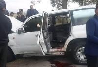 محل وقوع تصادف خودروی رئیس سازمان تامین اجتماعی کشور+تصاویر