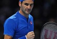 صعود فدرر به نیمه نهایی تور ATP لندن