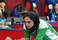 پایان کار دختران پینگ پنگ باز ایران در مسابقات چک