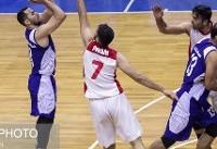 برد پتروشیمی در نبرد مدعیان بسکتبال