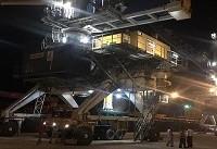 عملیات تخلیه بزرگترین کشتی در بندر چابهار آغاز شد