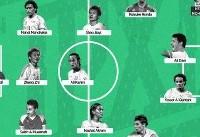 دایی، کریمی و حجازی در تیم منتخب تاریخ آسیا به انتخاب هواداران
