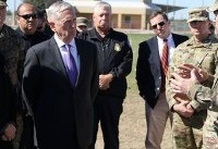 Mattis defends Mexico border deployment in first troop visit