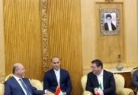 ورود رییسجمهور عراق به تهران