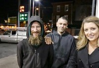 The Latest: Couple, homeless man charged in charitable scam