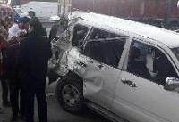 مقصران حادثه تصادف دیروز گرگان شناخته شدند