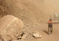 حادثه ریزش کوه و امدادرسانی به ۷۰۰ نفر