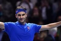 چهار تنیسور برتر تور ATP لندن مشخص شدند