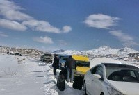 بارش برف در ارتفاعات شمالی و غربی کشور/لزوم استفاده از زنجیر چرخ