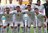 اعضای تیم  فوتبال امید ایران وارد مسقط شدند