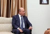 رهبر ایران در دیدار با رئیس جمهور عراق: بهتر است 'حشد شعبی' بماند