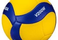 رونمایی FIVB از توپ جدید رقابتهای بینالمللی والیبال