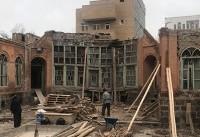 بخشی از عملیات مرمت ۲ خانه قاجاری در اردبیل بهاتمام رسید