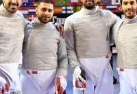 تیمملی اسلحه سابر ایران هفتم جهان شد