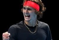 زورف با شکست جوکوویچ قهرمان تور ATP لندن شد