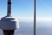 مقامات کالیفرنیا با دوربینهای فوق دقیق به جنگ آتشسوزی میروند
