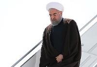 رئیس جمهور وارد فرودگاه خوی شد / سفر یکروزه به آذربایجان غربی