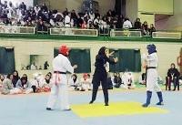 مسابقات قهرمانی کشور سبکهای آزاد کاراته بانوان برگزار شد