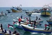 ۴۱ فلسطینی در تظاهرات ساحلی نوار غزه، بدست نظامیان صهیونیست زخمی شدند