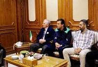 ملاقات مسئولان تیم امید با سفیر ایران در عمان