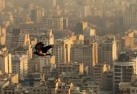 هوای پایتخت با شاخص  ۱۰۷ ناسالم شد
