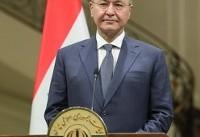 رئیسجمهوری عراق از ایران به دیدار پادشاه عربستان رفت