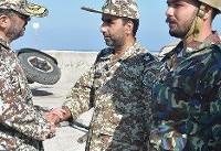 بازدید از پدافند هوایی جزایر ابوموسی و تنب بزرگ خلیج فارس