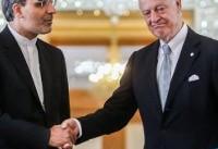 رایزنی های جابری انصاری با دی میستورا و برخی از معارضان سوری در سوئیس