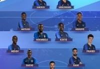 اعلام ترکیب تیم ملی فرانسه و اروگوئه(عکس)