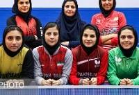 مصائب تلخ و شیرین دختران پینگپنگباز ایران