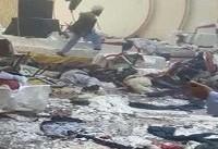 لحظه انفجار تروریستی در هتل اورانوس کابل! + فیلم