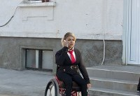 Disabled Iranian woman seeks new opportunities in the West