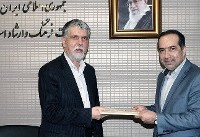 برگزاری آیین تکریم رئیس پیشین و معارفه انتظامی سرپرست سازمان سینمائی